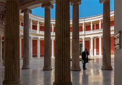 Blick in die Rotunde (Innenhof) vom Zappeion in Athen