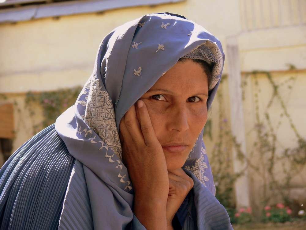 Blick in die Seele einer afghanischen Frau