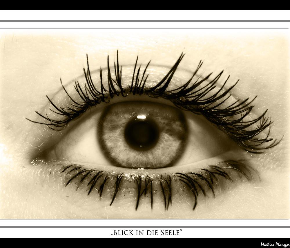 Blick in die Seele