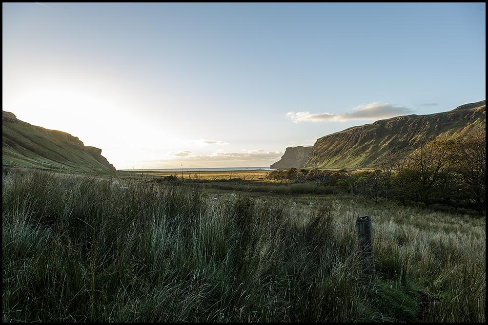 Blick in die Talisker Bay