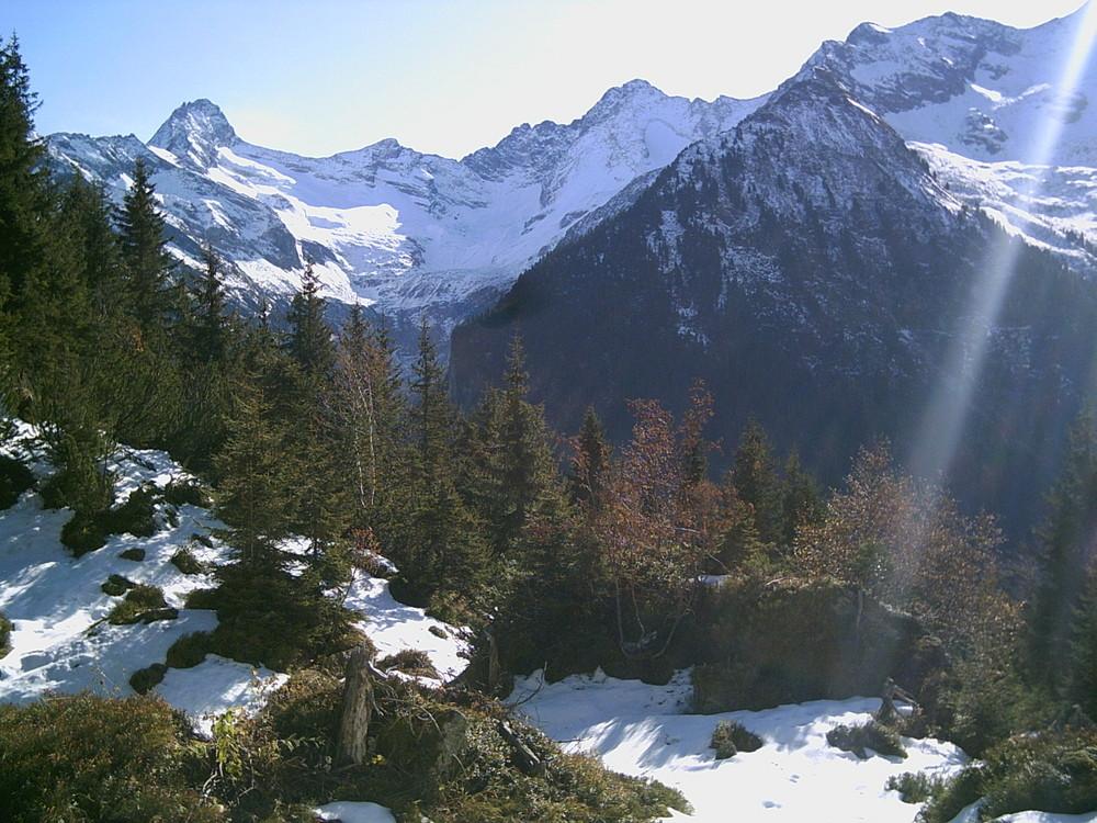 Blick in Gunggtal am 1.11.2009