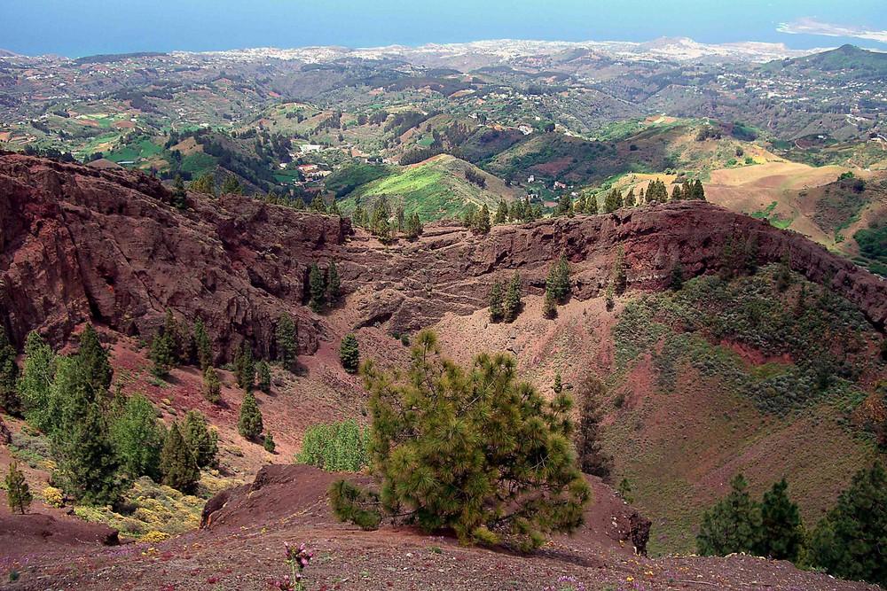 Blick in Richtung Las Palmas