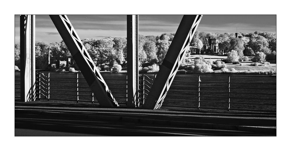 Blick in Richtung Park Babelsberg