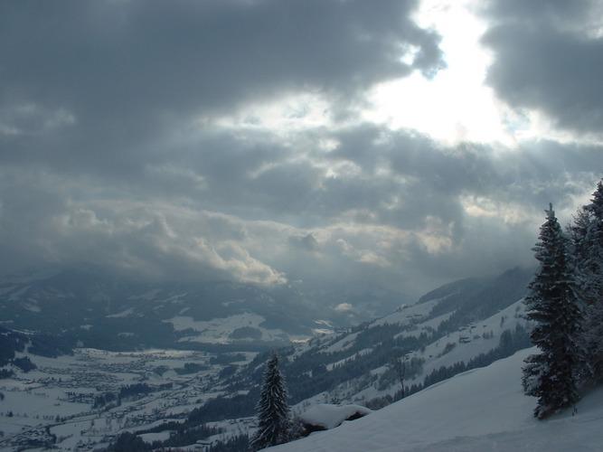 Blick ins Brixental