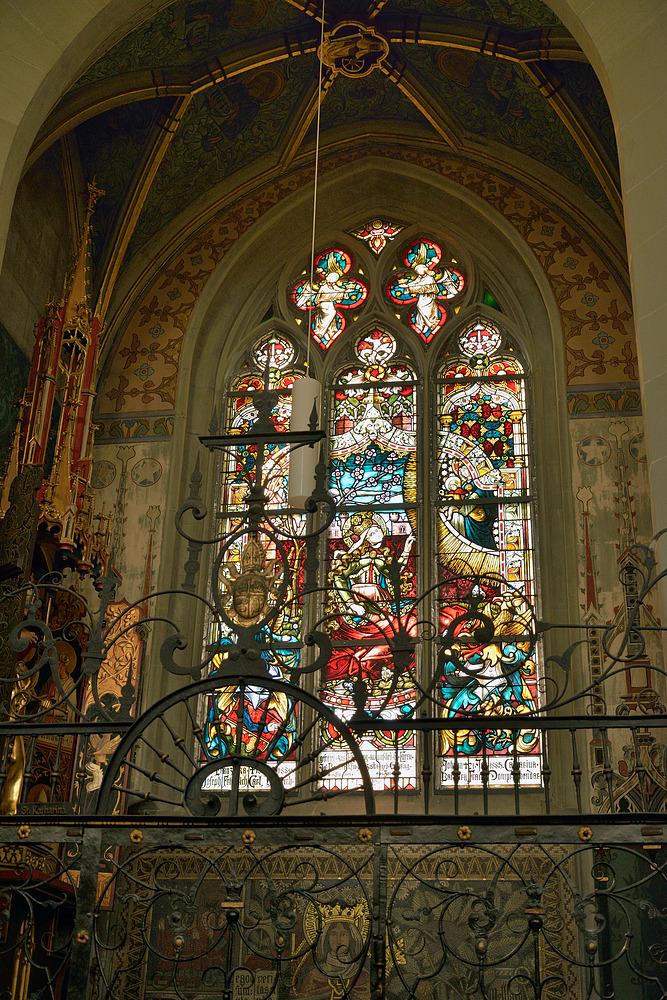 Blick ins Münster zu Konstanz Nr.17.