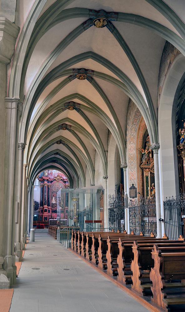 Blick ins Münster zu Konstanz Nr.19.