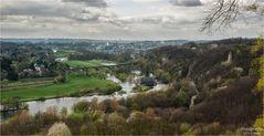 Blick ins Ruhrtal bei Witten