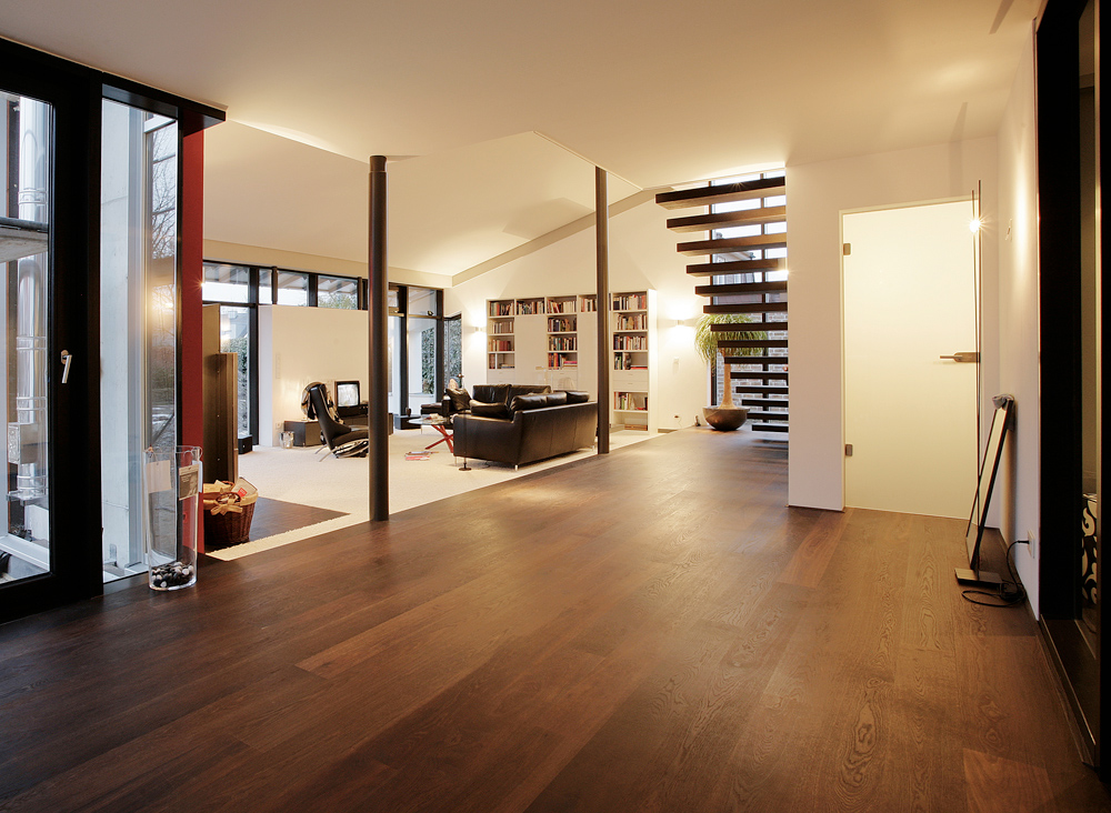 blick ins wohnzimmer foto bild architektur. Black Bedroom Furniture Sets. Home Design Ideas