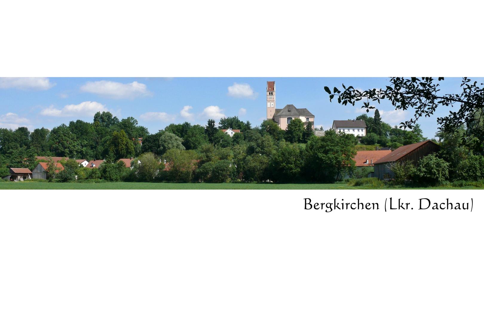 Blick nach Bergkirchen