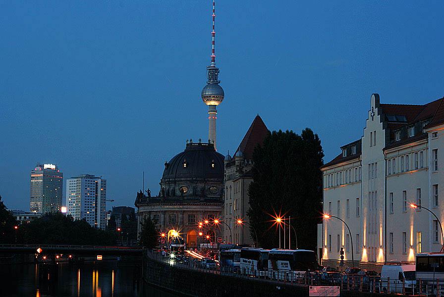 Blick nach Berlin Mitte