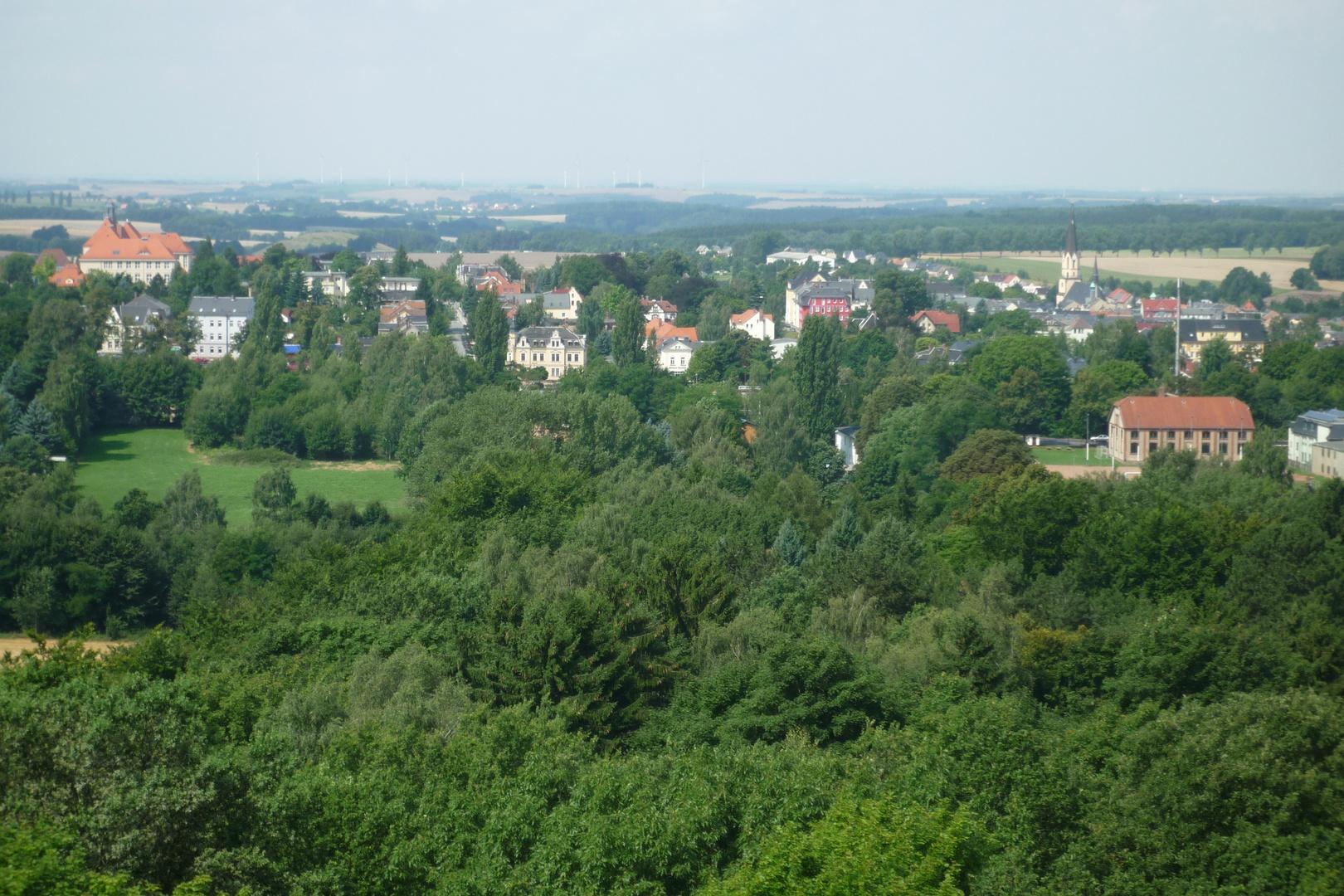 Blick nach Burgstädt