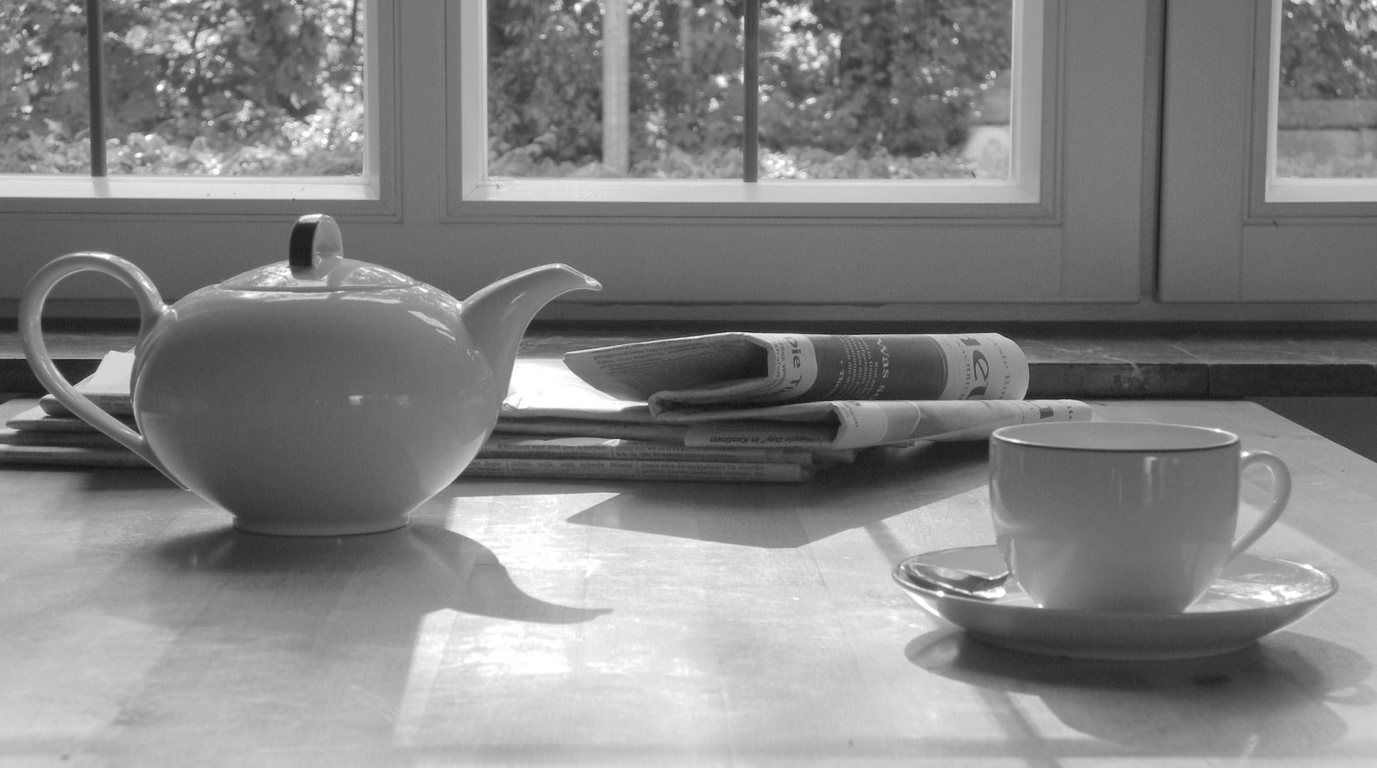 Blick nach dem Frühstück I