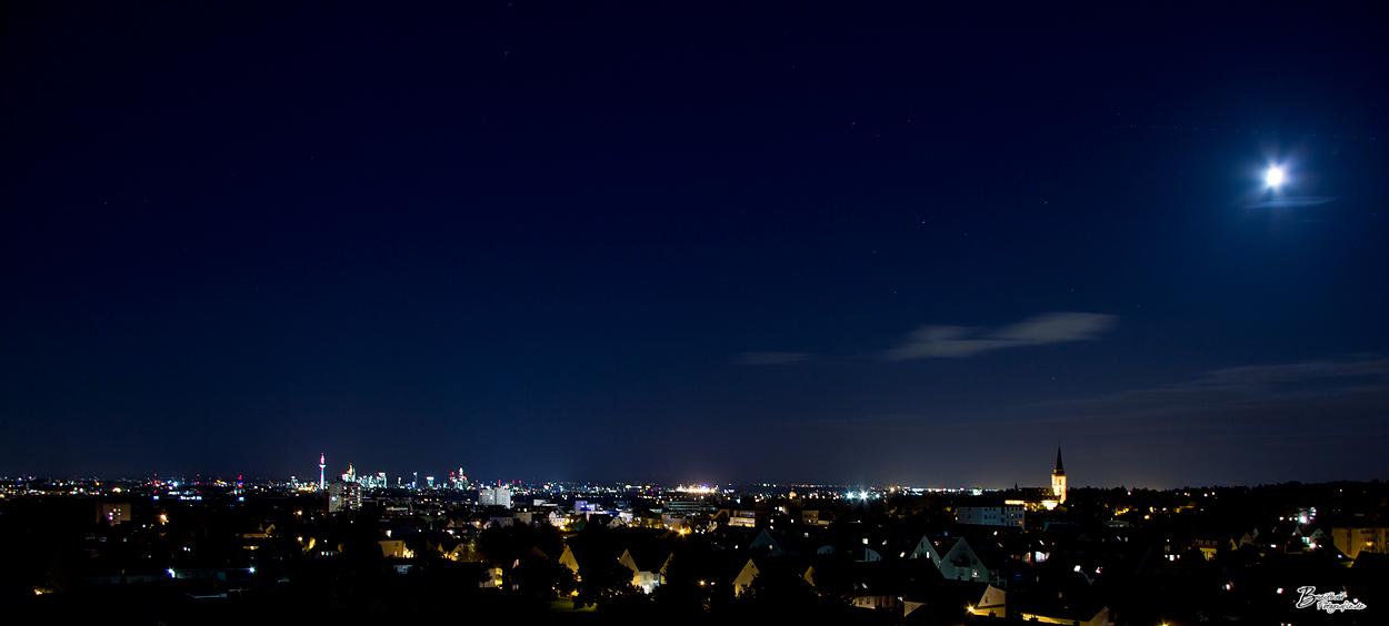 Blick nach Frankfurt