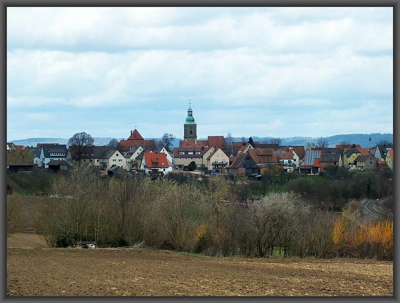 Blick nach Kalchreuth