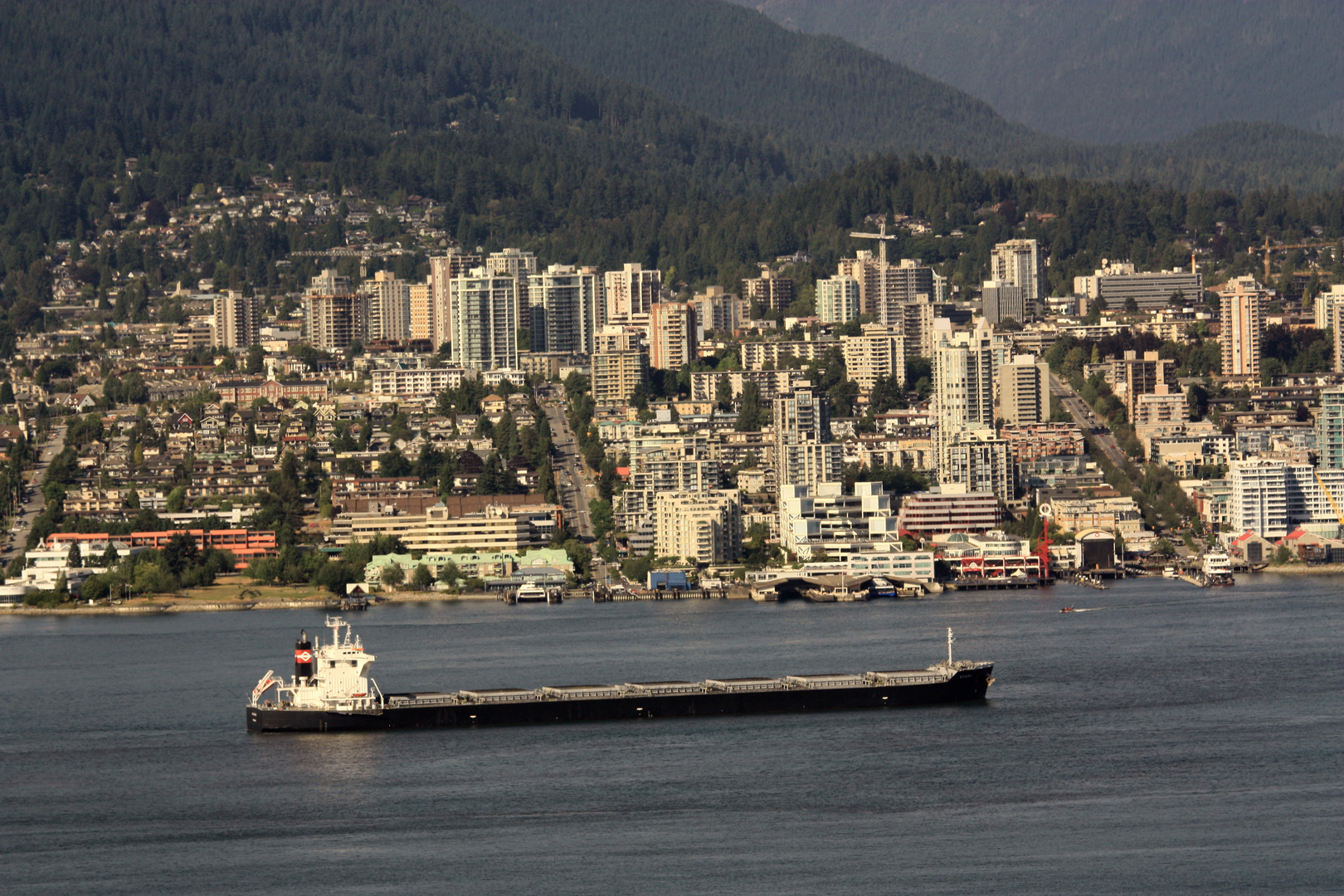 Blick nach North Vancouver