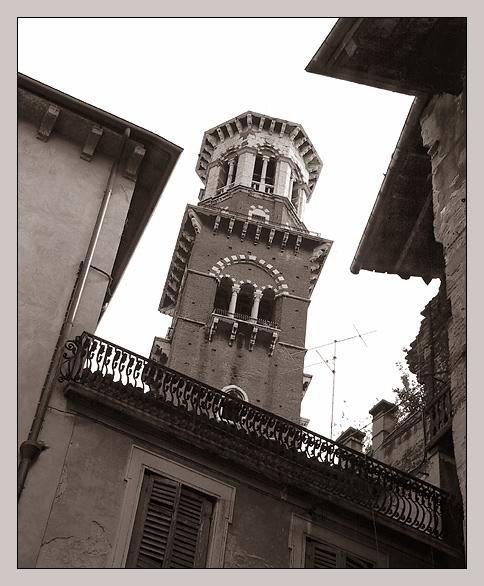 Blick nach oben - Verona