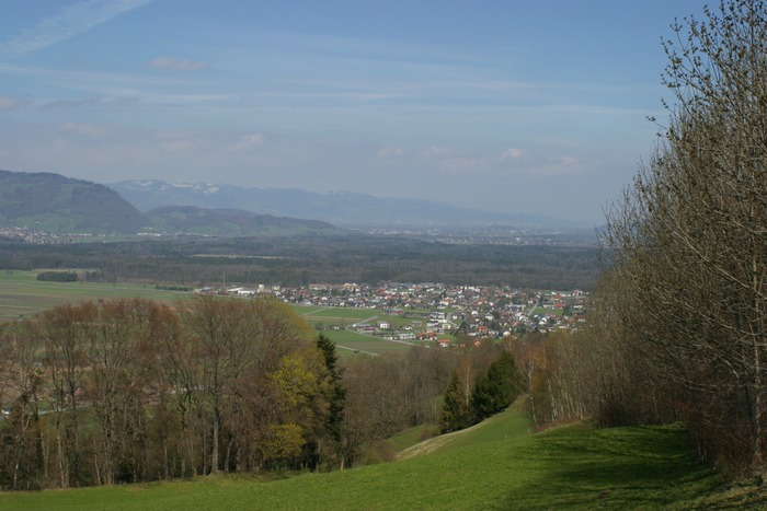 Blick nach Oesterreich