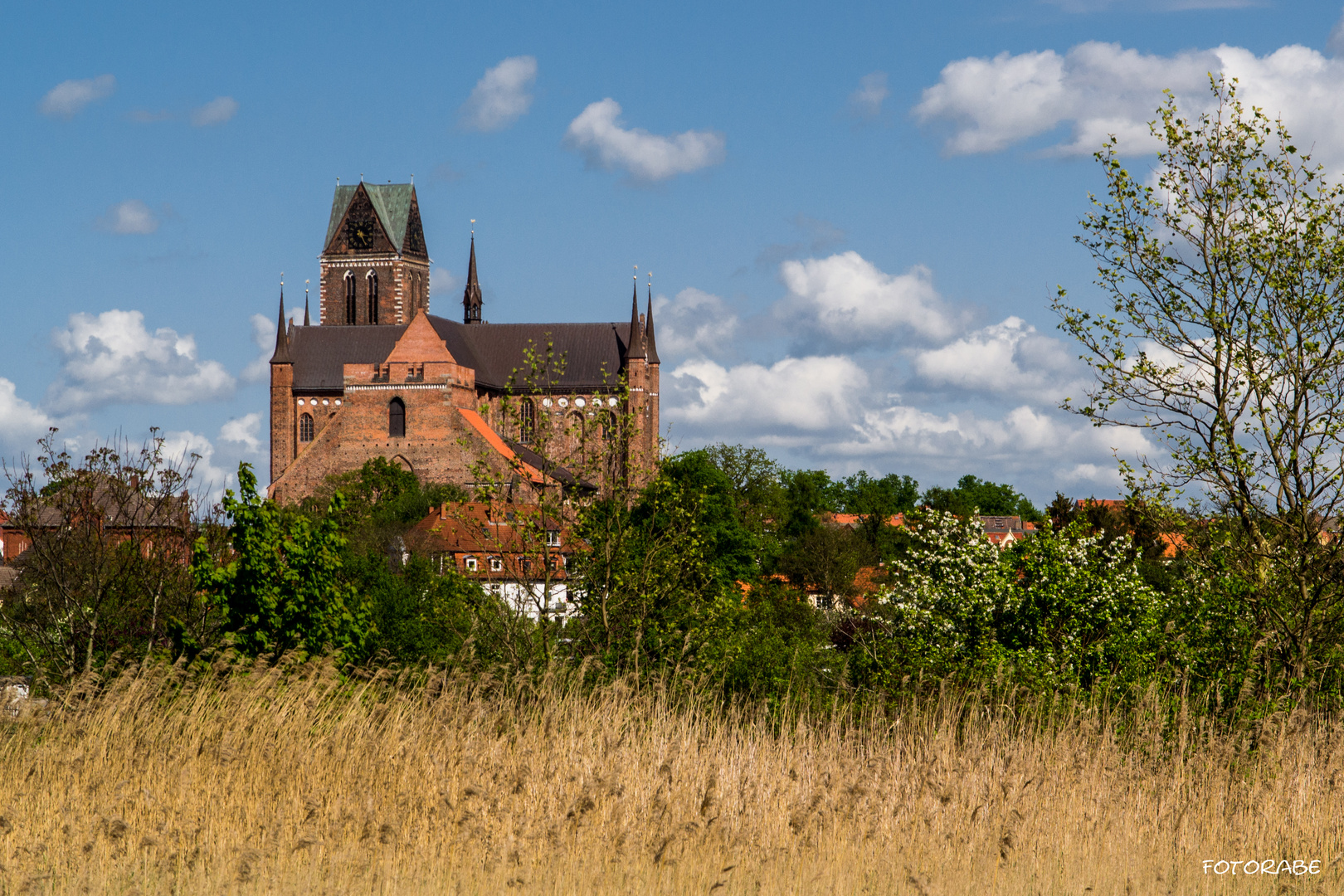 Blick nach Wismar