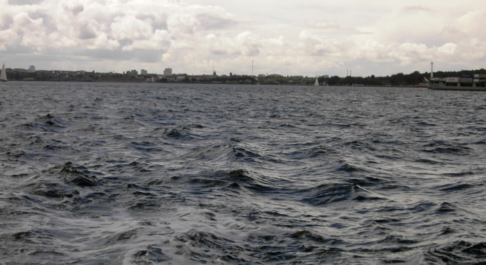 Blick Richtung Kiel