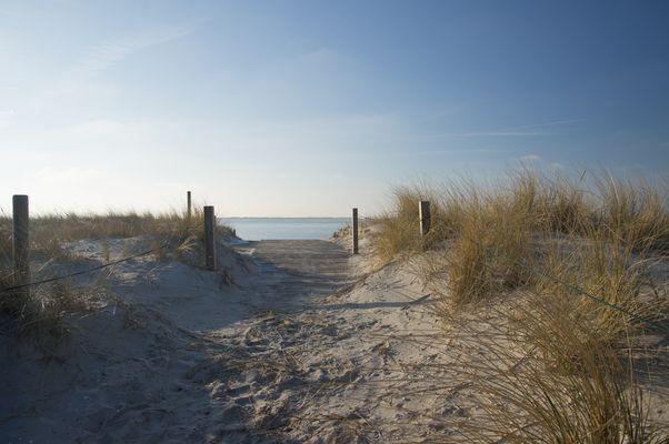 Blick Richtung Langeoog