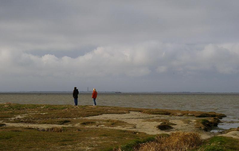 Blick Richtung Norderney....