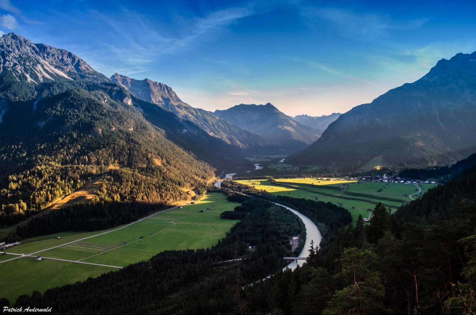 Blick Richtung Vorderhornbach