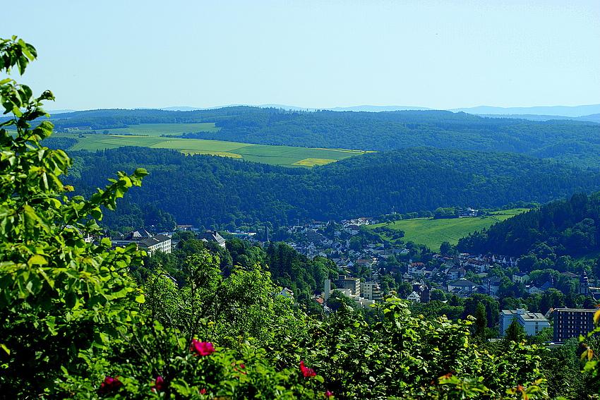 Blick über Bad Schwalbach