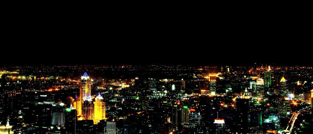 Blick über Bangkok (Baiyoke Tower2)
