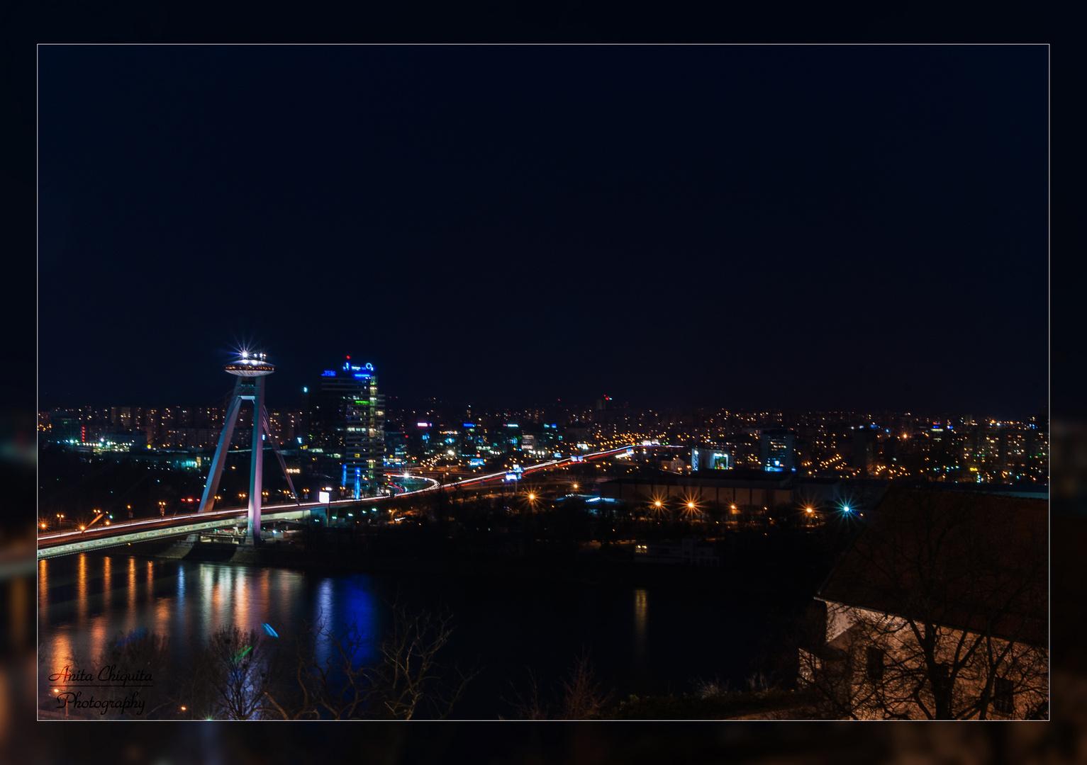 Blick über Bratislava
