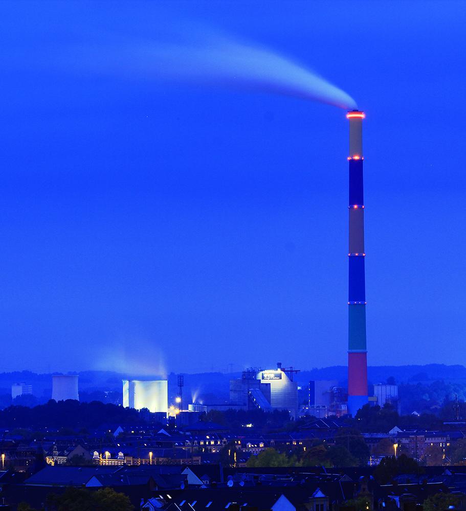 Blick über Chemnitz-HDR