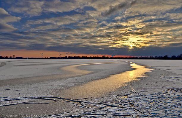 Blick über das Eis