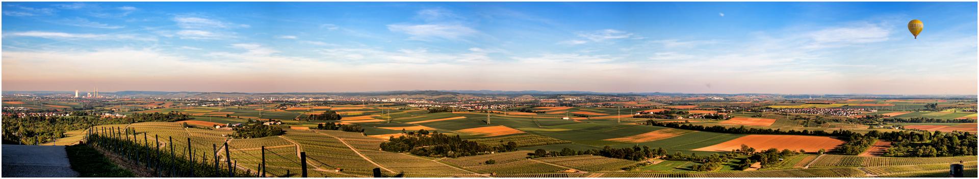 Blick über das Heilbronner Land