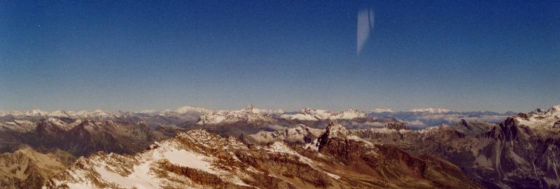Blick über den Alpen