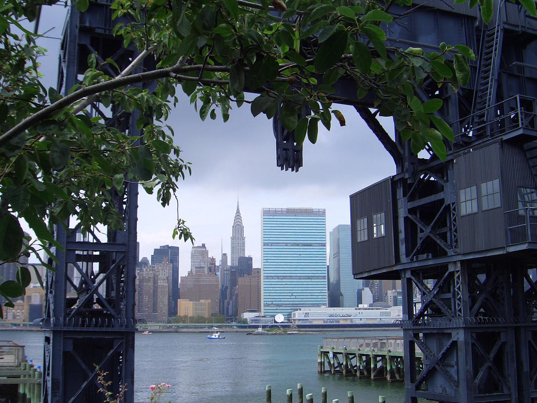 Blick über den East River