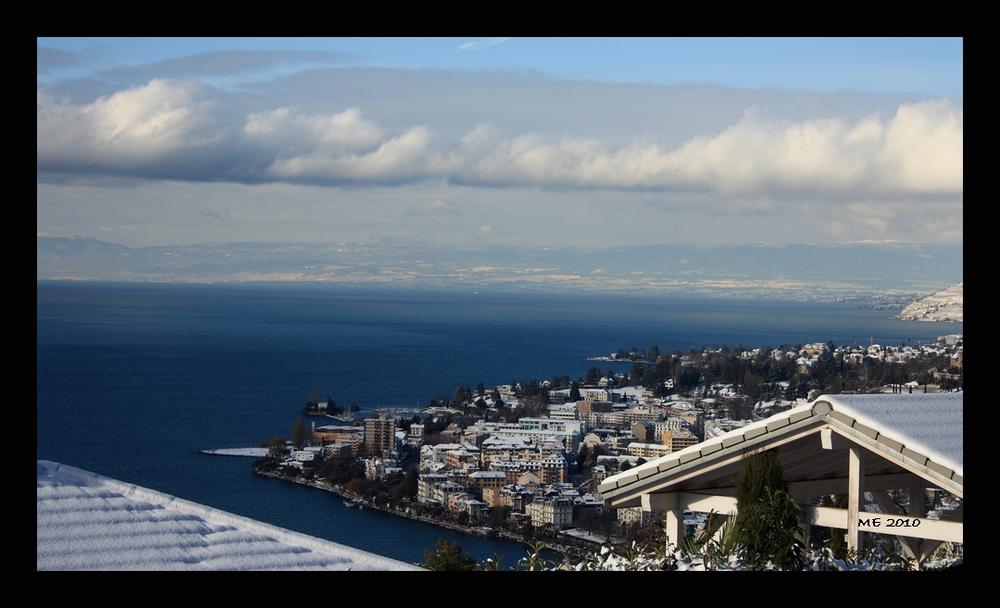 Blick über den Genfer See...