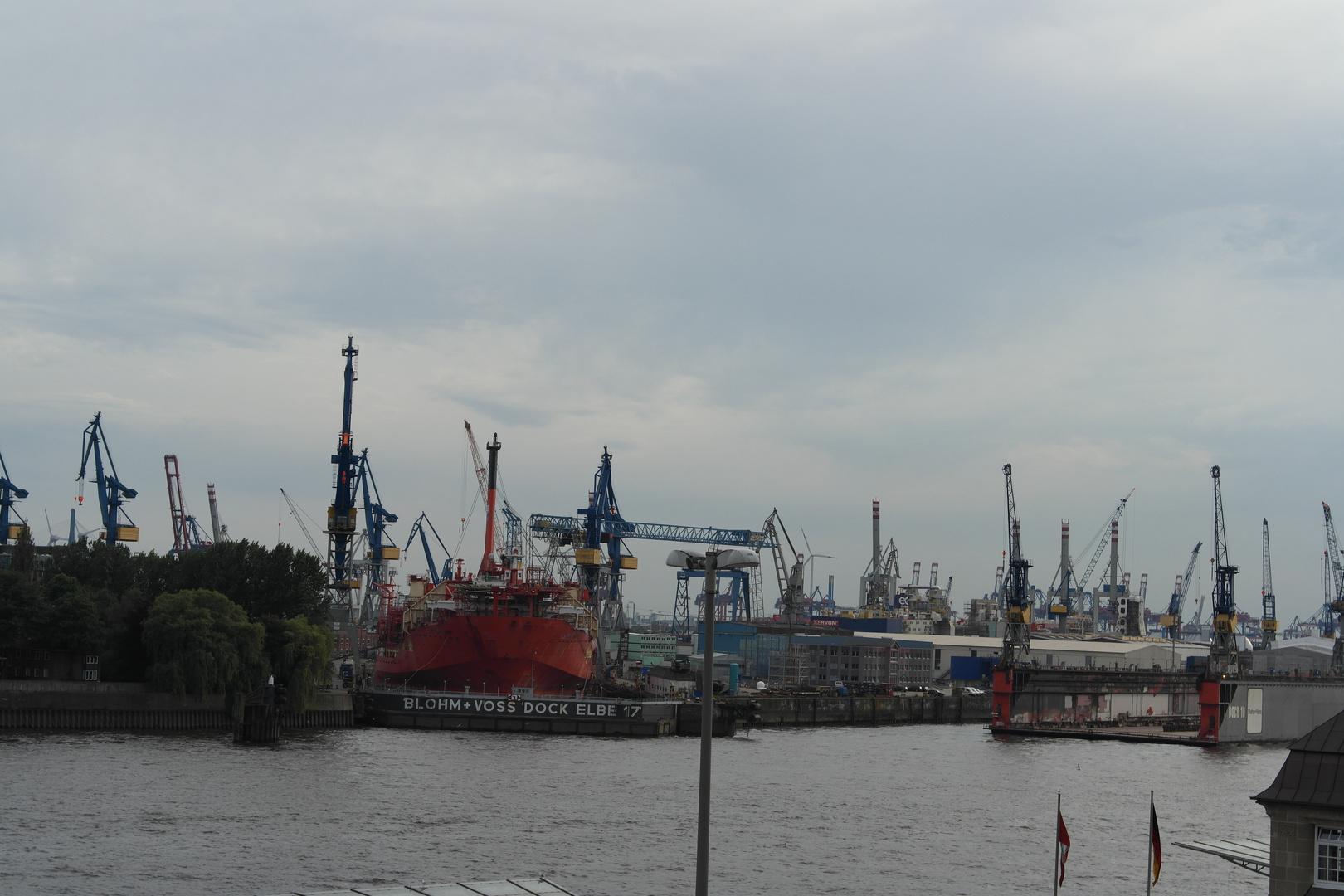Blick über den Hafen (Hamburg)