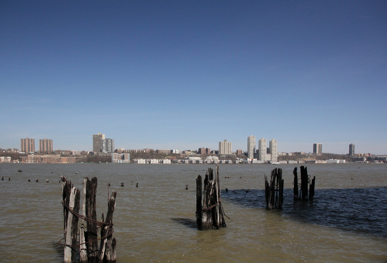 Blick über den Hudson River II auf New Jersey