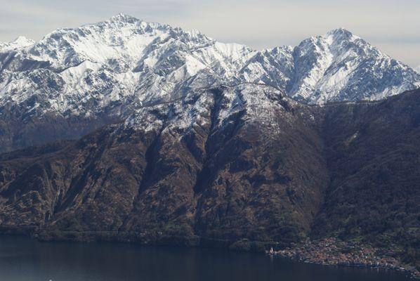 Blick über den lago di como