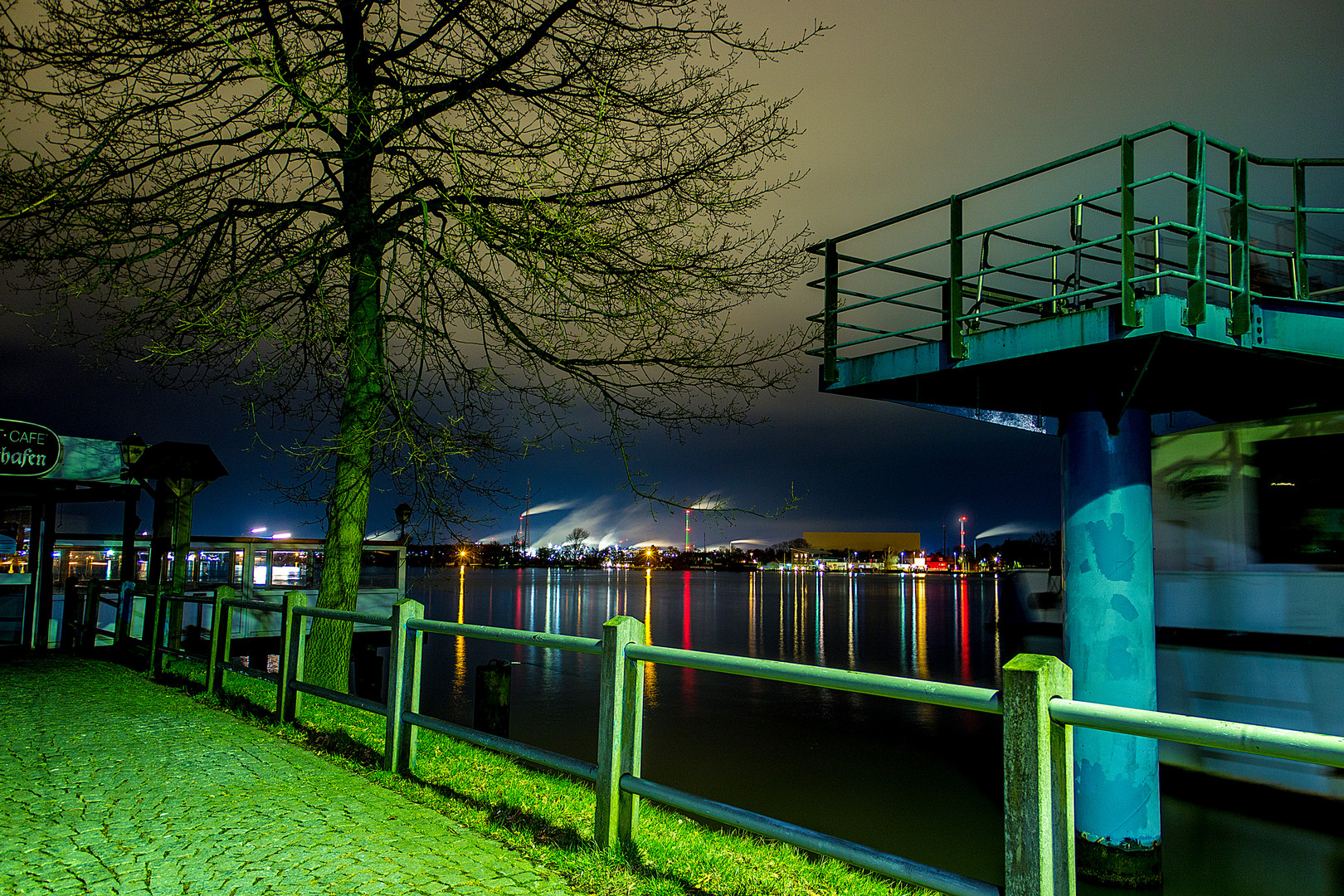 Blick über den NOK bei Nachtglanz