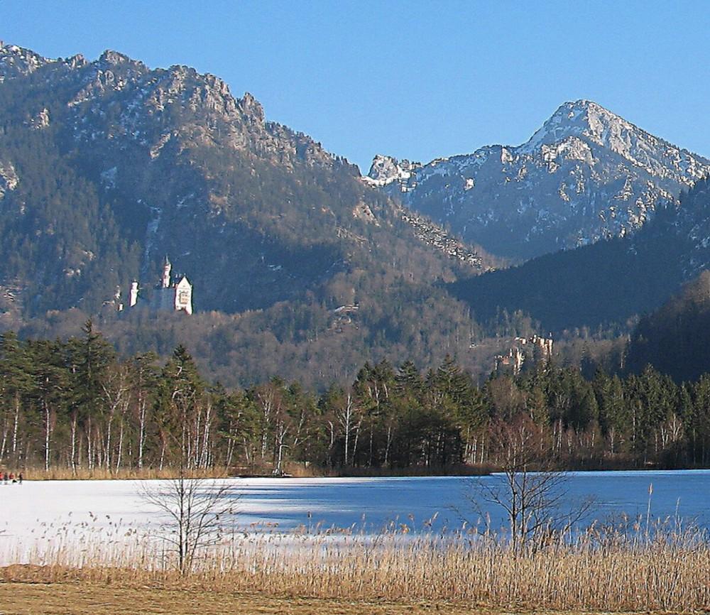 Blick über den Schwanensee