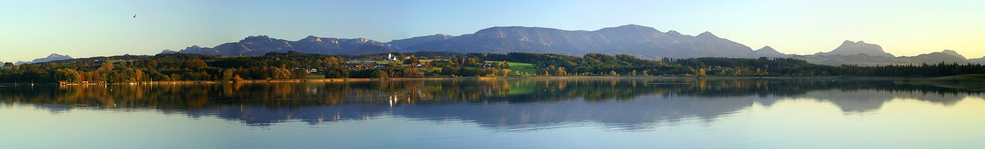 Blick über den Simssee
