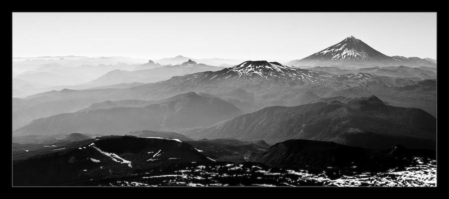 Blick über die Anden