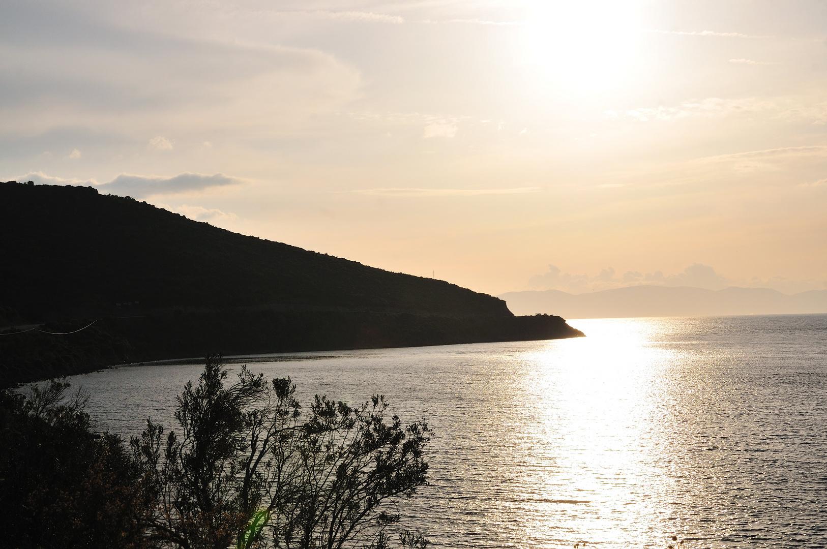 Blick über die Bucht von Izmir