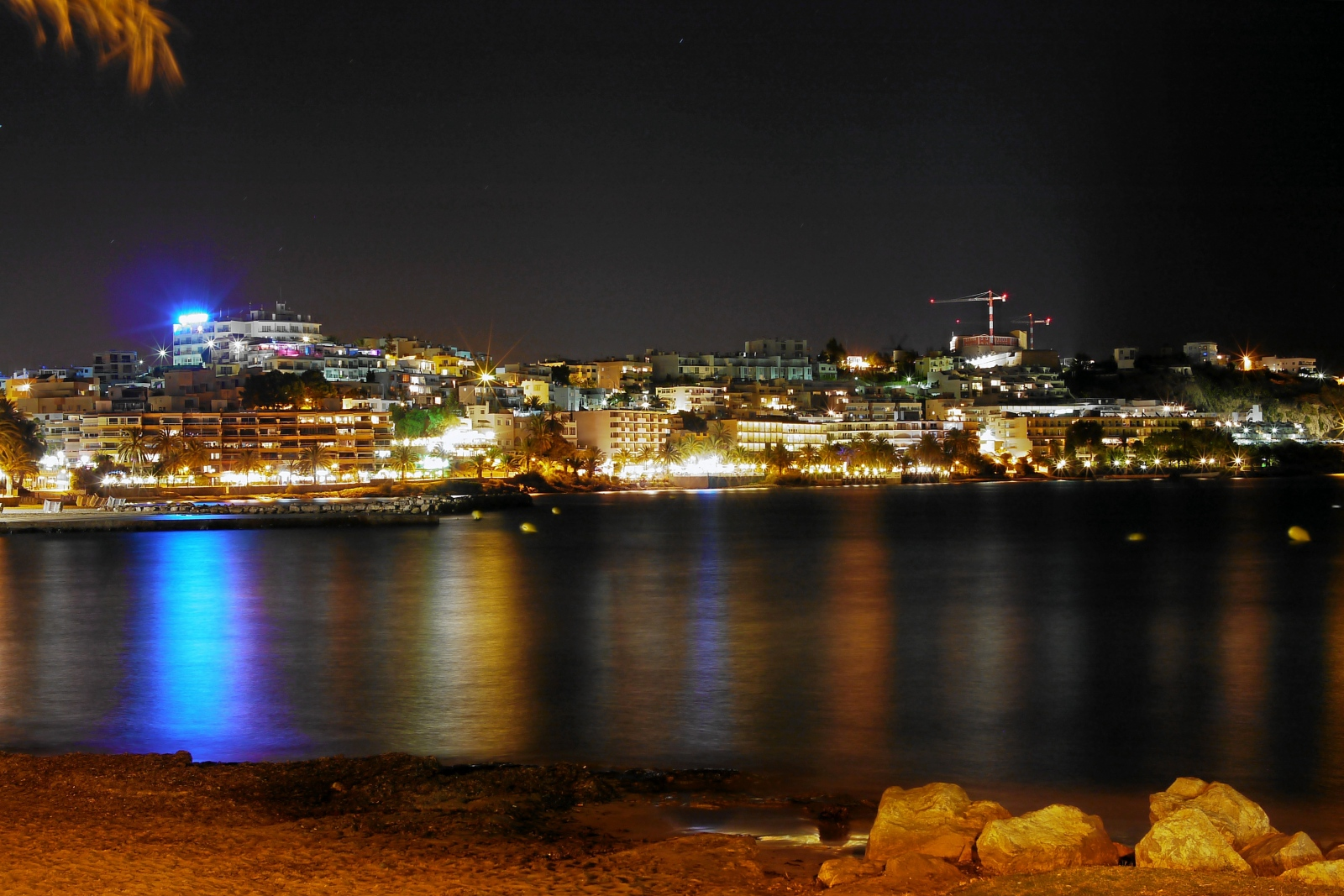 Blick über die Cala Figueretas