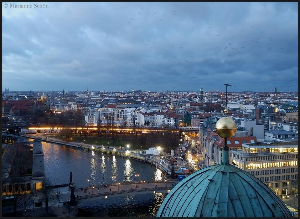 Blick über die Dächer von Berlin...