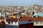 Blick über die Dächer von Istanbul