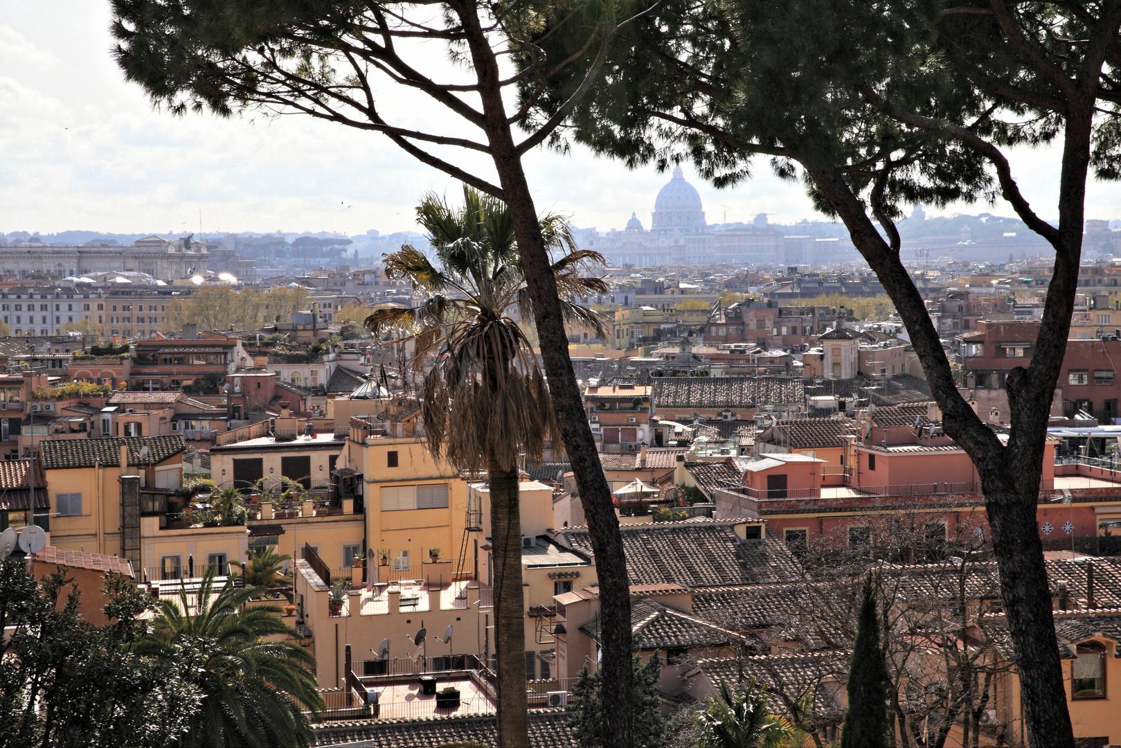 Blick über die ewige Stadt.. (Römische Impressionen..)