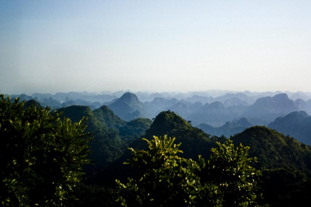 Blick über die Ha Long