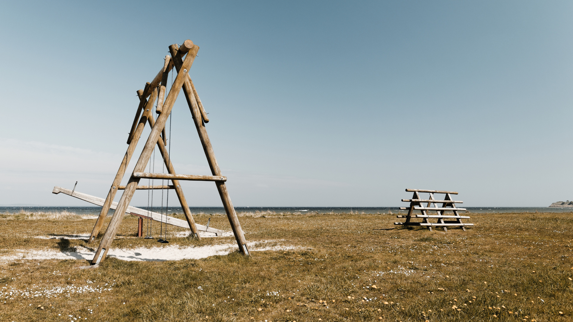 Blick über die Ostsee
