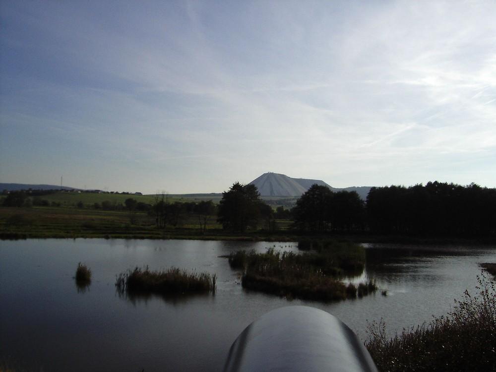 Blick über die Reeden zum Monte Kali